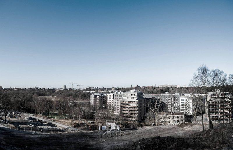Utsikt över hus